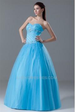 Beading Floor-Length Sleeveless Sweetheart Prom/Formal Evening Dresses 02020661