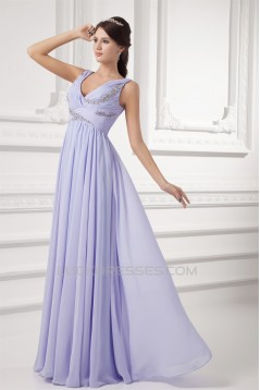 Beading Sheath/Column Chiffon Prom/Formal Evening Dresses 02020666