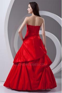 Beading Sleeveless Ball Gown Floor-Length Prom/Formal Evening Dresses 02020671