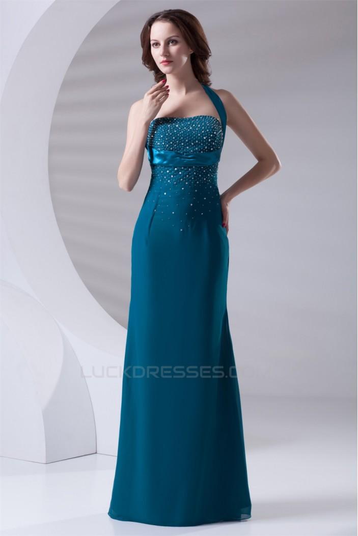 Beading Sleeveless Floor-Length Chiffon Prom/Formal Evening Dresses 02020674