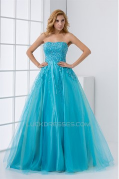 Beading Soft Sweetheart Floor-Length A-Line Prom/Formal Evening Dresses 02020678