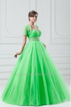 Beading Sweetheart Floor-Length Satin Net Prom/Formal Evening Dresses 02020684