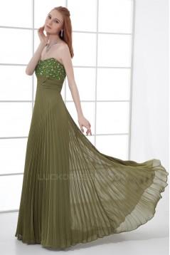 Brush Sweep Train Sleeveless Sheath/Column Prom/Formal Evening Dresses 02020691