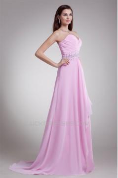 A-Line Chiffon Ruffles Sweetheart Prom/Formal Evening Dresses 02020705