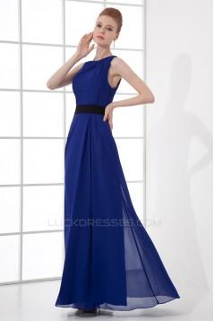 Chiffon Sleeveless Bateau Prom/Formal Evening Dresses 02020713