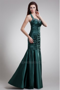 Elastic Woven Satin Sleeveless Floor-Length Prom/Formal Evening Dresses 02020725