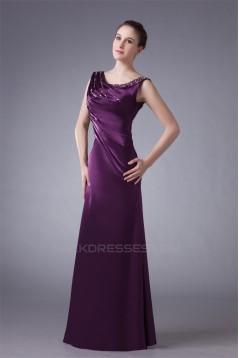 Floor-Length Beading Sleeveless A-Line Scoop Prom/Formal Evening Dresses 02020732