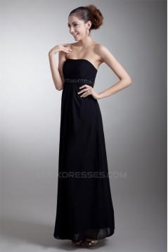 Floor-Length Beading Sleeveless Sheath/Column Prom/Formal Maternity Evening Dresses 02020733