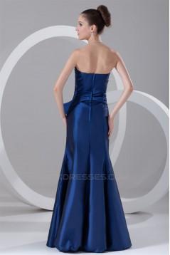 Floor-Length Strapless Taffeta Prom/Formal Evening Dresses 02020749