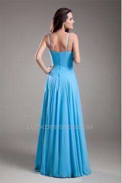 Floor-Length Sheath/Column Sleeveless V-Neck Prom/Formal Evening Dresses 02020754