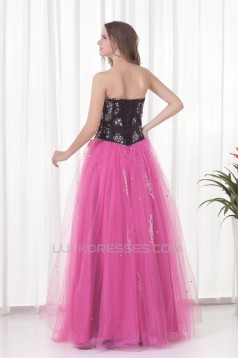 A-Line Beading Floor-Length Short Sweetheart Prom/Formal Evening Dresses 02020756