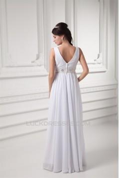 Sheath/Column Floor-Length Sleeveless V-Neck Prom/Formal Evening Dresses 02020761