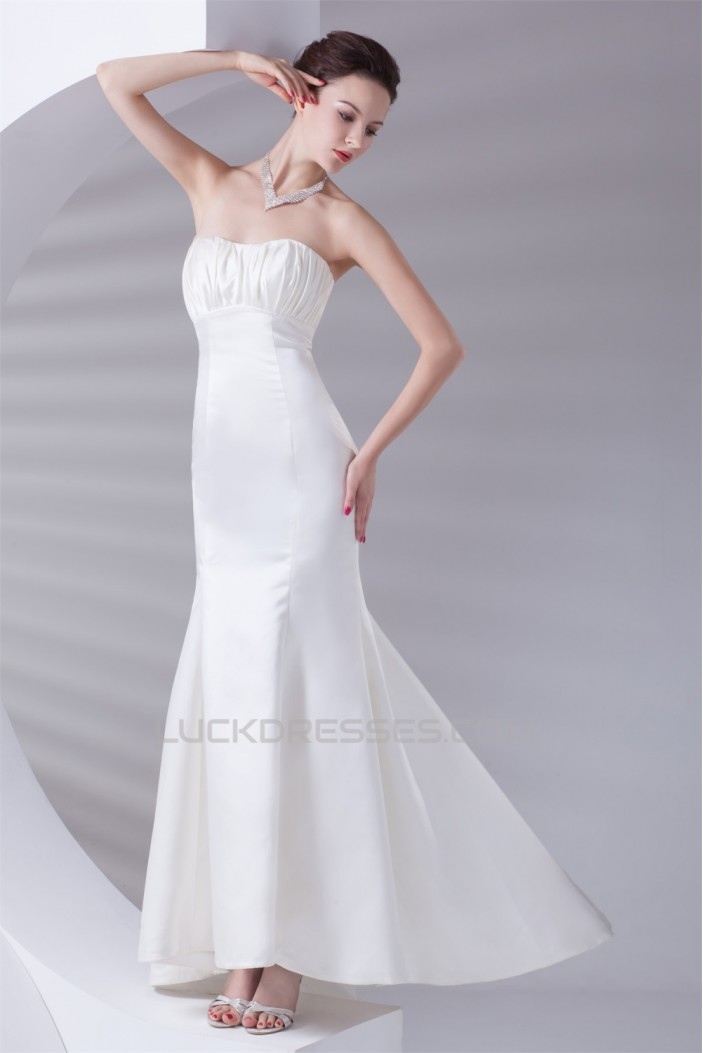 Mermaid/Trumpet Elastic Woven Satin Sleeveless Prom/Formal Evening Dresses 02020774