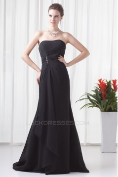 Mermaid/Trumpet Soft Sweetheart Beading Prom/Formal Evening Dresses 02020779