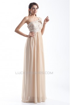 One-Shoulder Sheath/Column Chiffon Sequins Prom/Formal Evening Dresses 02020793