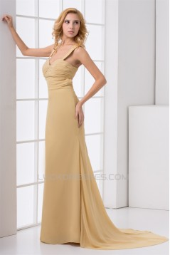 Ruched Sleeveless Sweetheart Sheath/Column Prom/Formal Evening Dresses 02020813