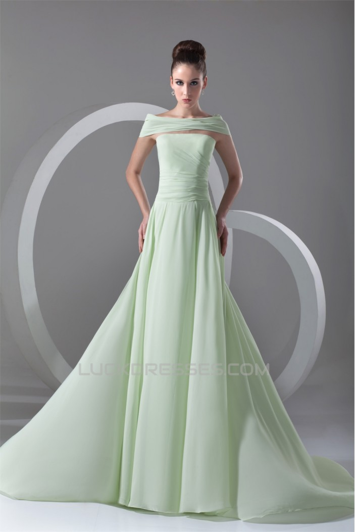 A-Line Strapless Wrap Sleeveless Prom/Formal Evening Dresses 02020845