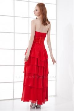 Sheath/Column Sweetheart Sleeveless Chiffon Elastic Woven Satin Prom/Formal Evening Dresses 02020847