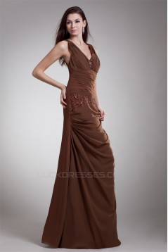 Sleeveless A-Line Chiffon Prom/Formal Evening Dresses 02020852