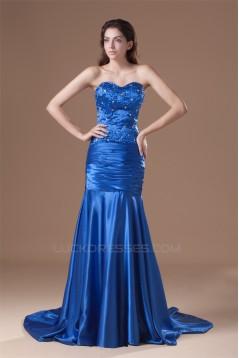 Sleeveless Beading Mermaid/Trumpet Sweetheart Prom/Formal Evening Dresses 02020866