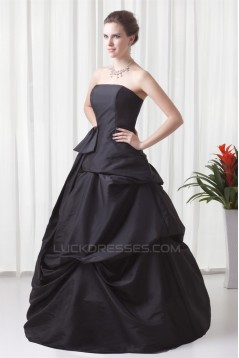Sleeveless Bows Floor-Length Ball Gown Prom/Formal Evening Dresses 02020870