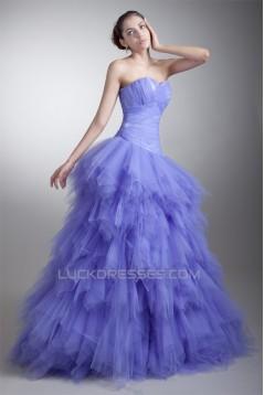 Sleeveless Sweetheart Tiered Floor-Length Prom/Formal Evening Dresses 02020906