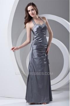 Sleeveless Taffeta Floor-Length Beading Prom/Formal Evening Dresses 02020907