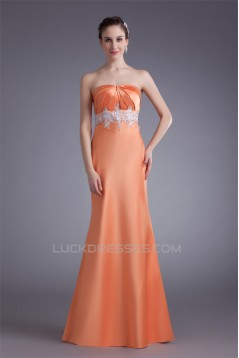 Strapless Floor-Length A-Line Sleeveless Prom/Formal Evening Dresses 02020923