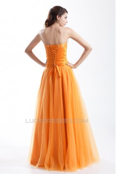 A-Line Strapless Sleeveless Floor-Length Prom/Formal Evening Dresses 02020927