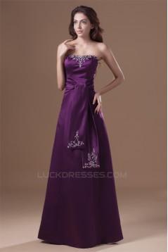 Strapless Sleeveless A-Line Floor-Length Prom/Formal Evening Dresses 02020928