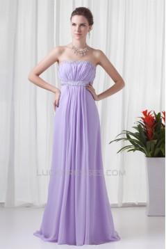 Strapless Sleeveless Floor-Length Sheath/Column Prom/Formal Evening Dresses 02020930
