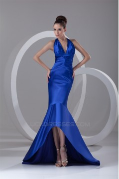 Trumpet/Mermaid Long Blue Prom/Formal Evening Dresses 02020936