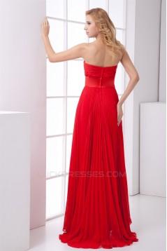 Sweetheart Bows A-Line Asymmetrical Chiffon Prom/Formal Evening Dresses 02020939