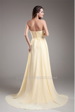 A-Line Sweetheart Chiffon Pleats Prom/Formal Evening Bridesmaid Dresses 02020941