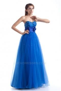 Sweetheart Sleeveless Beading Floor-Length Prom/Formal Evening Dresses 02020943
