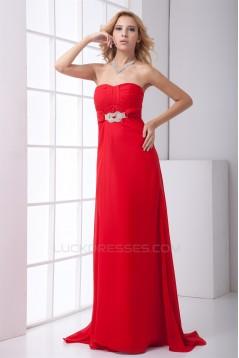Sweetheart Sleeveless Ruffles A-Line Chiffon Prom/Formal Evening Dresses 02020947