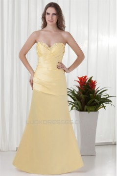 Sweetheart Sleeveless Satin Floor-Length Prom/Formal Evening Dresses 02020948