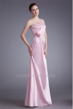 Sheath/Column Sweetheart Sleeveless Floor-Length Prom/Formal Evening Dresses 02020949