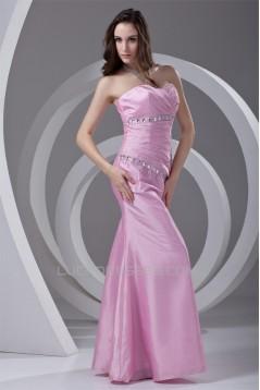 Taffeta Floor-Length Beading Sleeveless Prom/Formal Evening Dresses 02020954