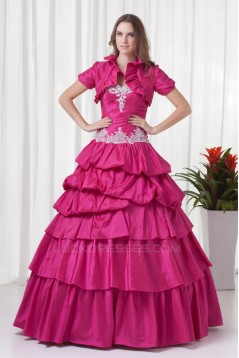 Taffeta Sweetheart Short Ball Gown Beading Prom/Formal Evening Dresses 02020960