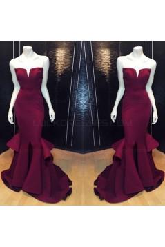 Long Trumpet/Mermaid Prom Evening Formal Dresses 3020039