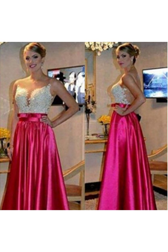 A-Line Long Prom Formal Evening Party Dresses 3021005