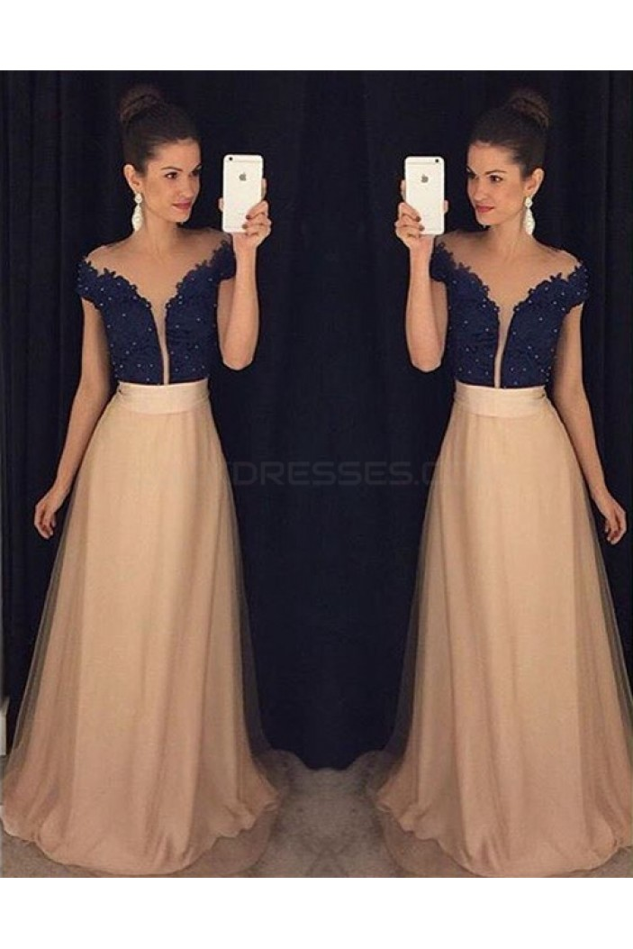 Lace Long Prom Formal Evening Party Dresses 3021035