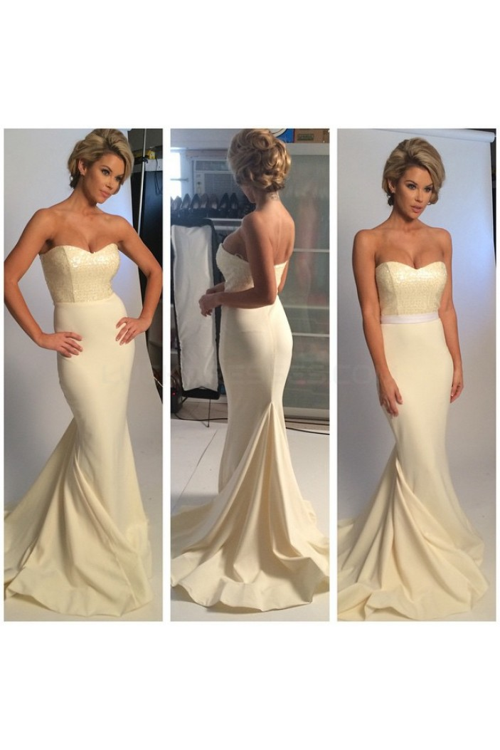 Mermaid Long Prom Formal Evening Party Dresses 3021061