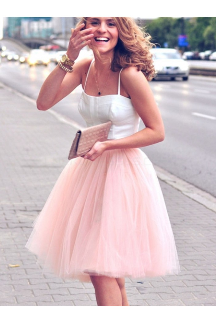 Two Pieces Short Homecoming Cocktail Graduation Prom Formal Evening Party Dresses 3021069