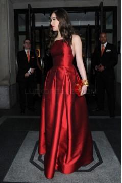 A-Line Halter Deep V-Neck Long Prom Formal Evening Party Dresses 3021078