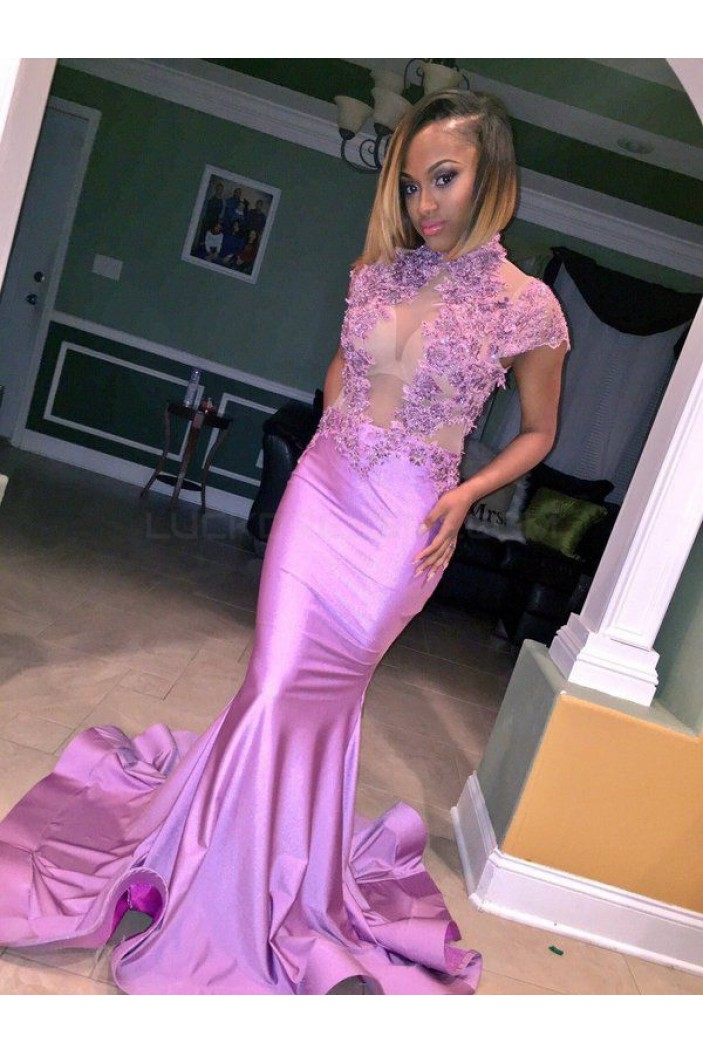 Mermaid Lace Long Prom Formal Evening Party Dresses 3021130