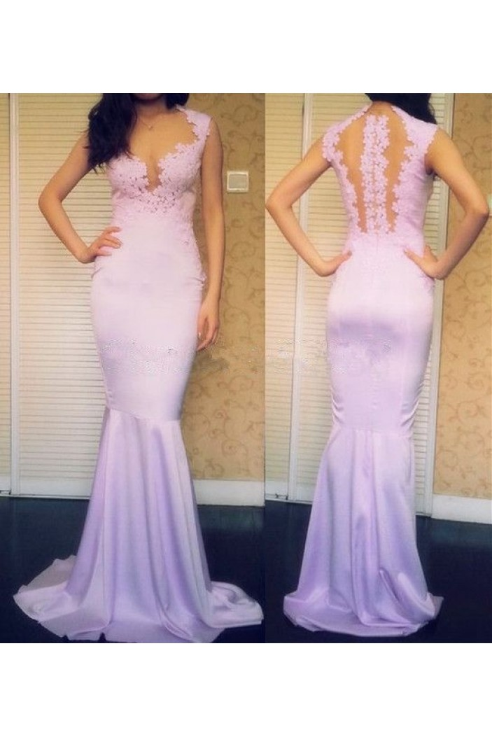 Mermaid Lace Long Prom Formal Evening Party Dresses 3021153