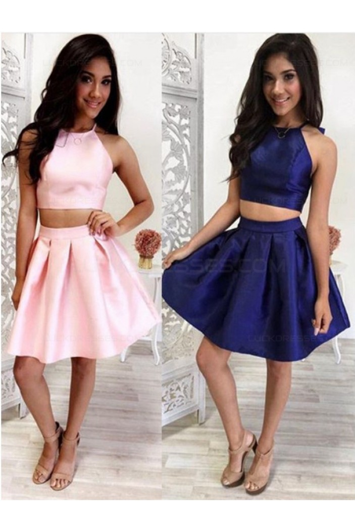 Two Pieces Short Prom Evening Cocktail Homecoming Dresses 3020116