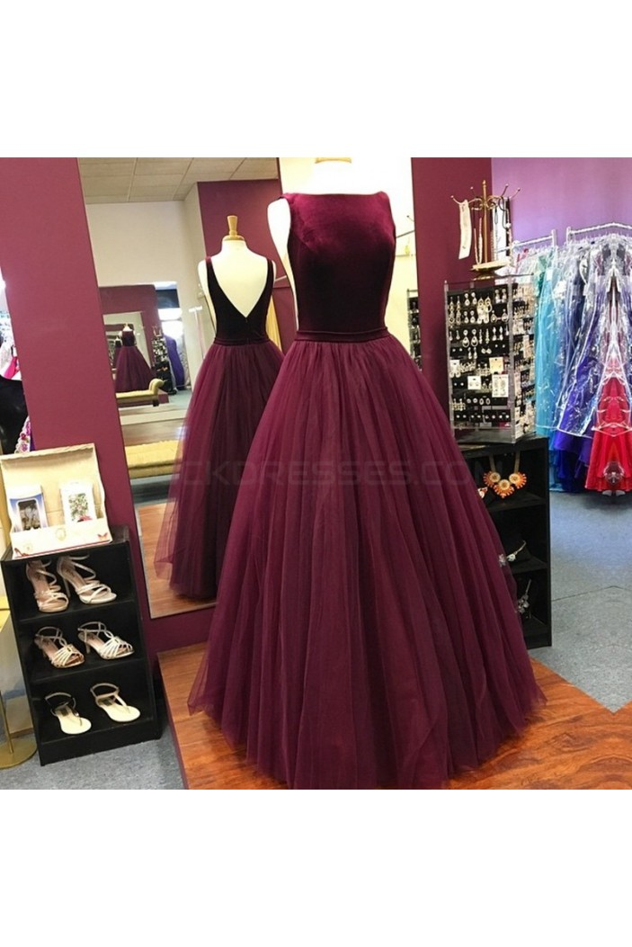 Tulle Ball Gown Prom Formal Evening Party Dresses 3021285
